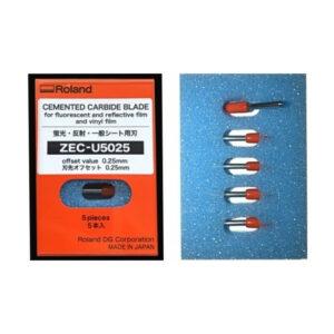 Roland ® 45° Cutting Blade (5 pcs) - ZEC-U5025 (offset 25mm)