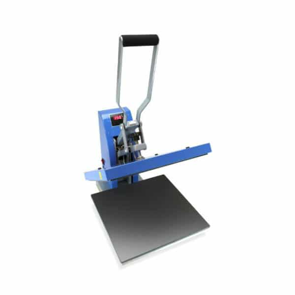 Easy to use cheap entry level clamshell heat press