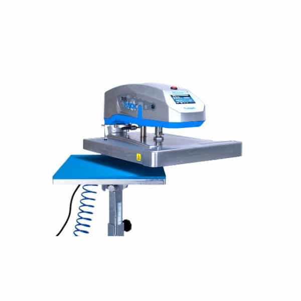 Stahls Hotronix Air Fusion Heat Transfer Press Swing Pedestal Open Zoom