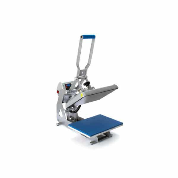 Stahls digital heat transfer press with plate 28cm by 38cm with patented automatic opening and closing mechanism