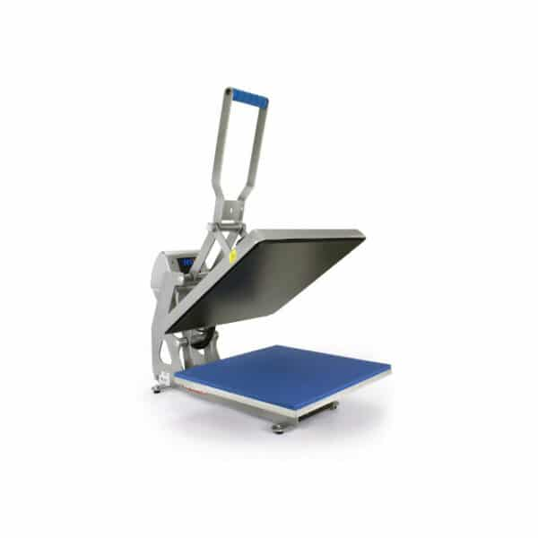 Stahls digital heat transfer press with plate 40cm by 40cm with patented automatic opening and closing mechanism