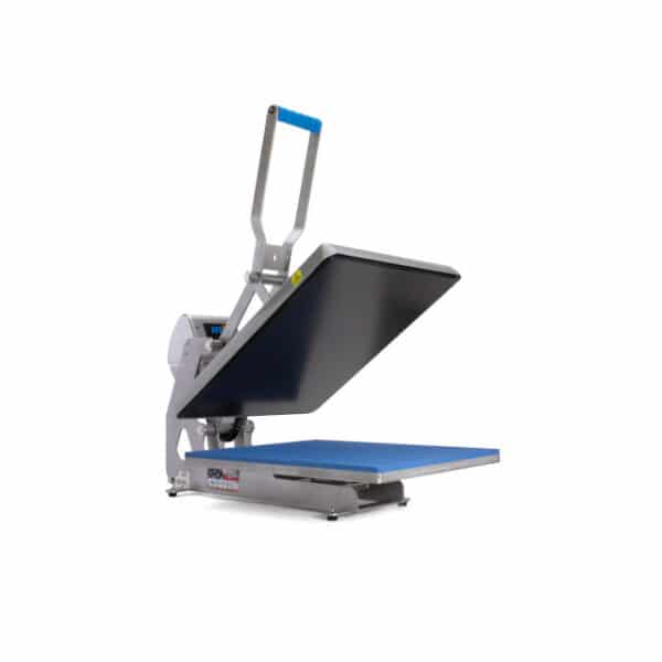 Stahls digital heat transfer press with plate 40cm by 50cm with patented automatic opening and closing mechanism