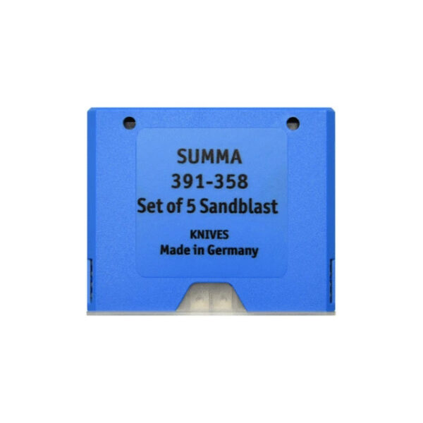 Summa ® SummaCut Sandblast Blade 55° (5 pcs) - 391-358