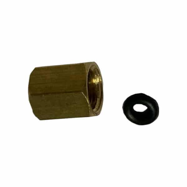 LFPP ® Hex Nut Kit for tube 3/2 mm