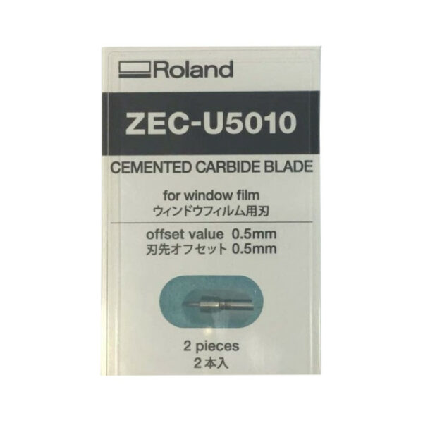 Roland ® 55° Cemented Carbide Cutting blades (2 pcs) – ZEC-U5010